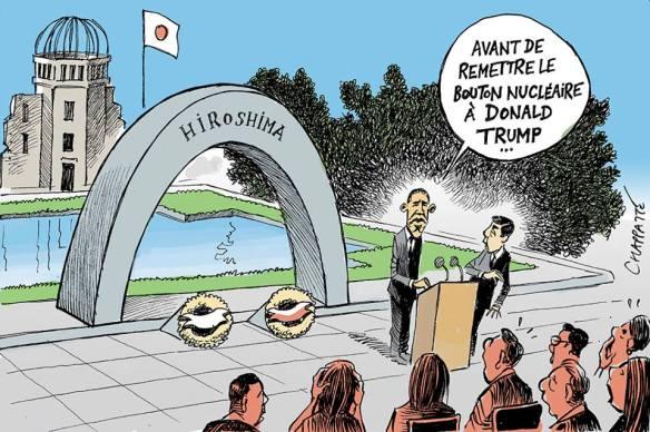 Hiroshima Donald Trump