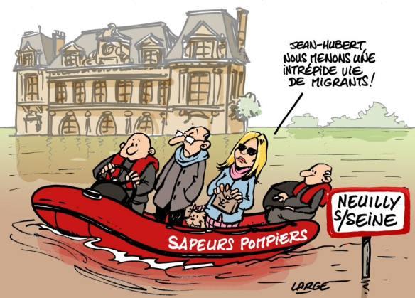 vie de migrants français